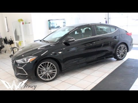 Black 2017 Hyundai Elantra Sport Edition Tinted By Winning Window Tints
