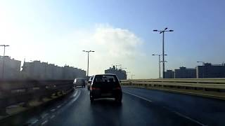 Budapest dashcam: Sunny Winter Morning 9 a.m.
