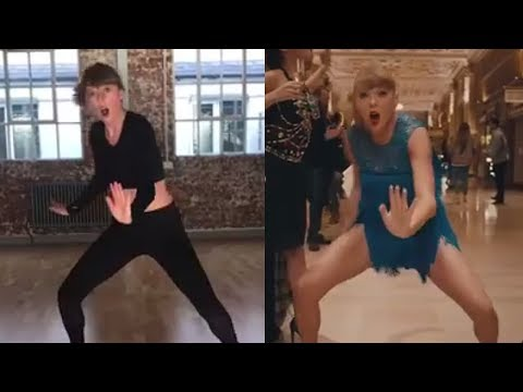 """Taylor Swift Shares """"Delicate"""" Dance Rehearsal & NAILS Routine in One Take"""