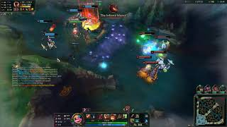 TACTICAL PLAYS ADC TRISTANA VS JINX - NA CHALLENGER PATCH 11.15