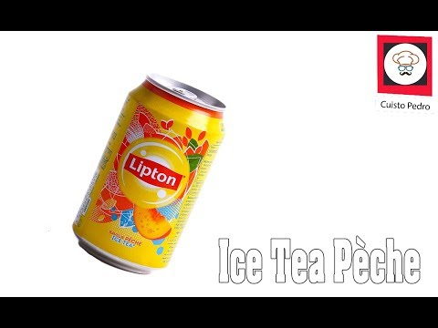 Recette ice tea au Thermomix TM5