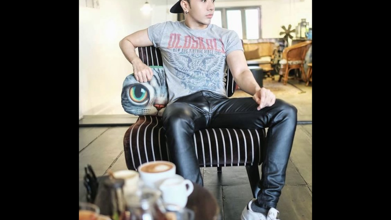 Men Leather Pants - YouTube 49b47663a