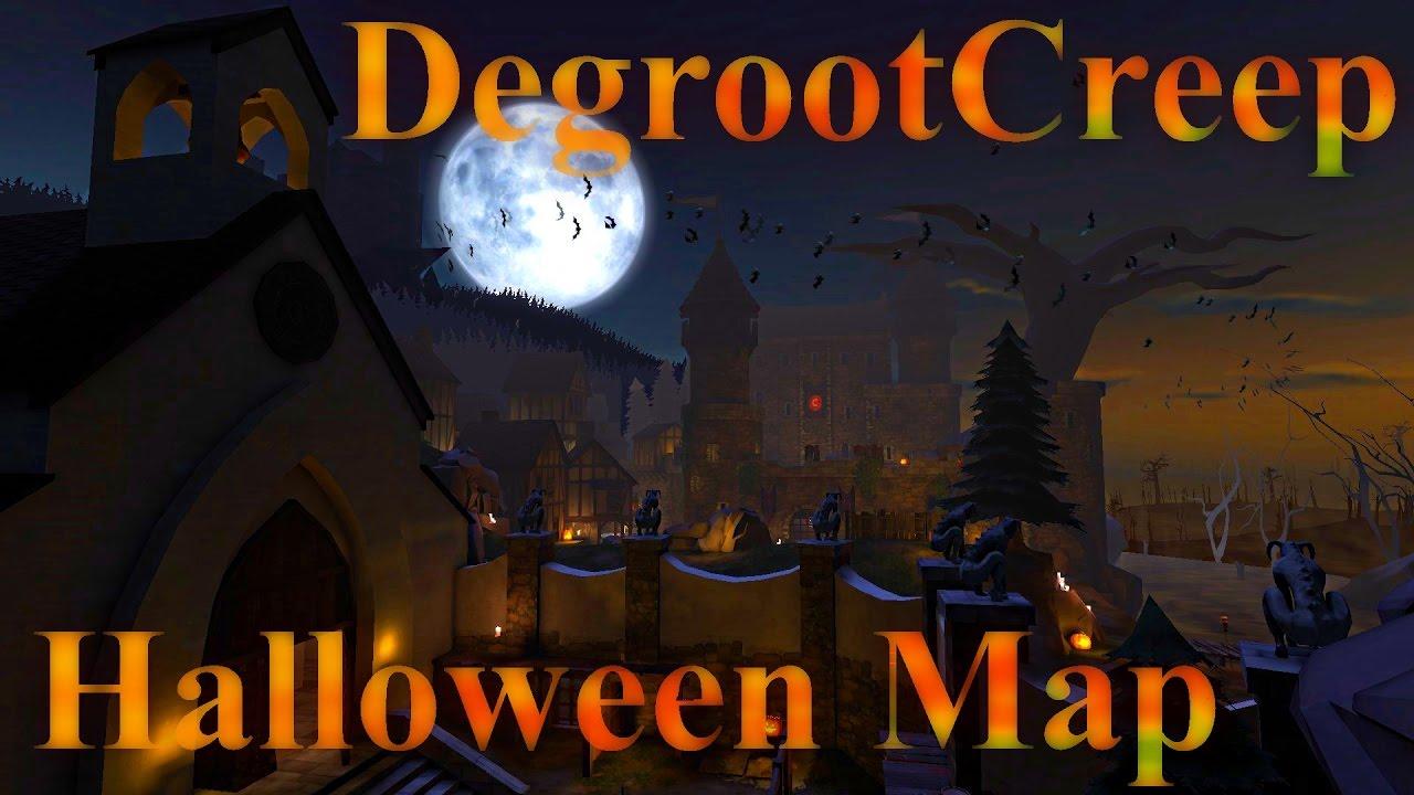 TF2: Degroot Creep Halloween Map