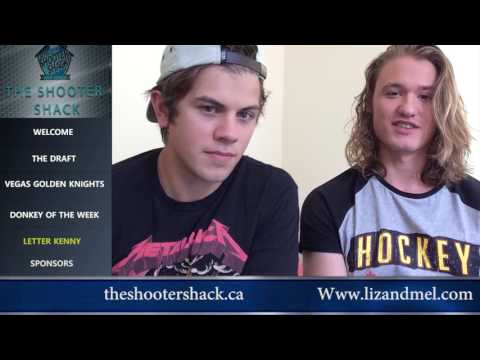 The Shooter Shack With Dylan Playfair and Andrew Herr From Letter Kenny