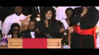 CeCe Winans Sings Dont Cry For Me at the Funeral of Whitney Houston by First Day Church Atlanta