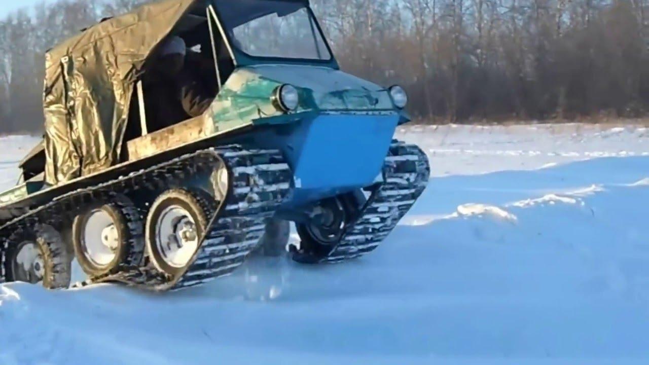 Болотоход. Вездеход. Испытания. Самодельный. Sibirian car - YouTube