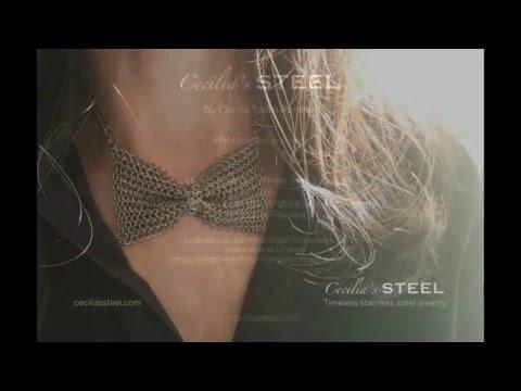 Steel Pearl Bracelet