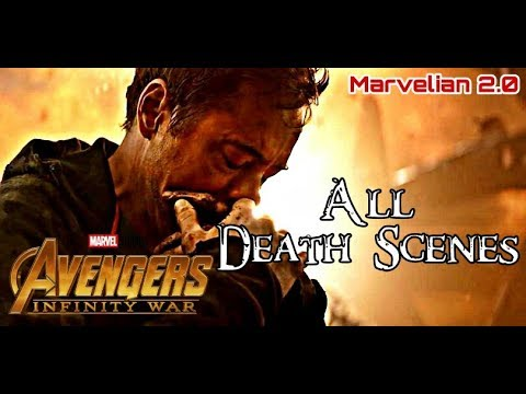 Avengers Infinity War All Death Scenes | Heimdall To Nick Fury | This Will Make You Cry
