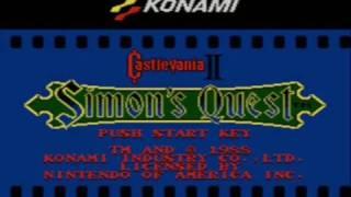 Castlevania 2: Simon's Quest Game Review TRAILER