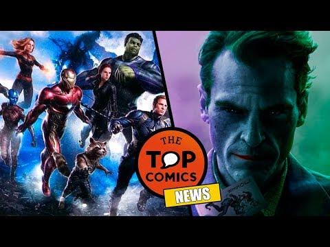 Primera imagen de Avengers 4 I Multiples películas del Joker