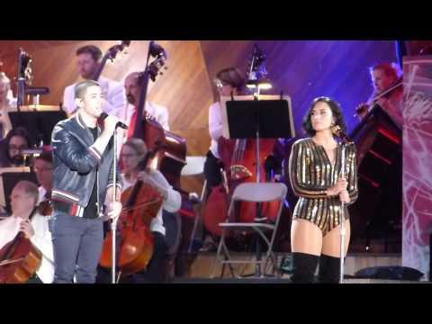 Demi Lovato & Nick Jonas, America the Beautiful - Boston Pops Fireworks Spectacular 2016