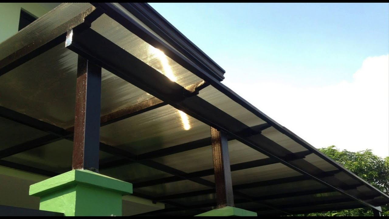 Polycarbonate Garage Roof Design Youtube