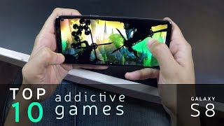 Top 10 Most Addictive Android Games (on Galaxy S8)