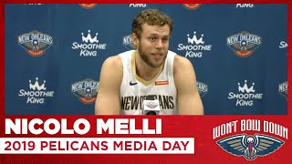 Nicolo Melli 2019 New Orleans Pelicans Media Day - Monday, Sep. 30, 2019