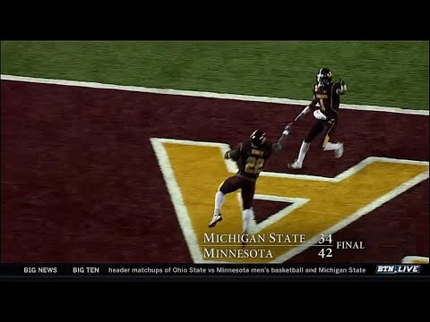 Throwback Thursday: Michigan State at Minnesota - Oct. 31, 2009