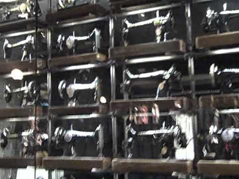 Geno TV, Boston on Newbury Street, Singer Sewing machines