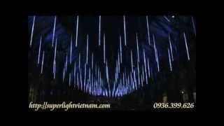 Mưa sao băng bằng Đèn led dây Super Light Việt Nam