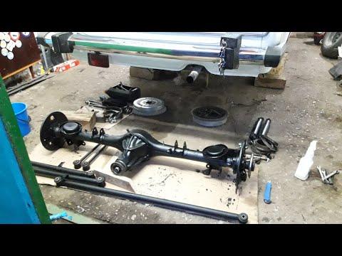 Ремонт задней подвески🔧🔩 ВАЗ-2106 Жигули /тазобудни /разборка и восстановление 1 ч .