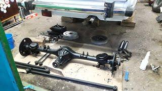 Ремонт задней подвески   ВАЗ-2106 Жигули /тазобудни /разборка и восстановление 1 ч .