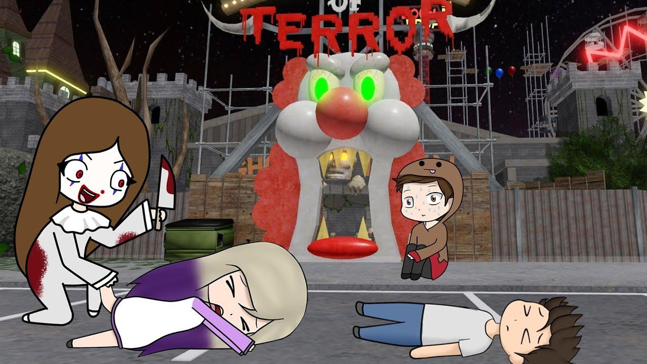 Download EL TEAM ANORMAL ESCAPA DEL CARNAVAL DEL TERROR EN ROBLOX!!