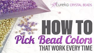 How To Pick Winning Seed Bead Color Palettes - with examples!