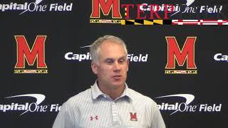 Maryland Football - DJ Durkin press conference Week 1 2017 Texas