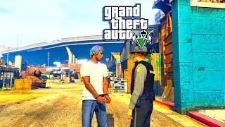 GTA 5 RP - FIRST TIME IN LOS SANTOS I GOT ARRESTED! (GTA 5 Roleplay)