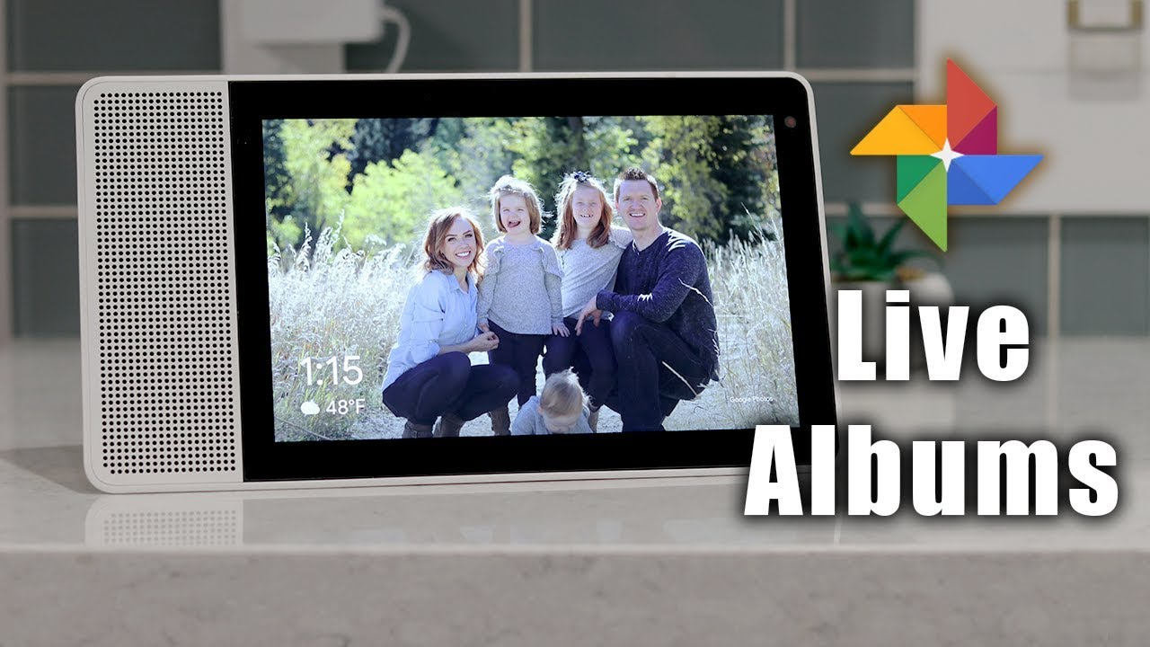 Create Google Photos Live Albums & Add to Chromecast or Smart Display