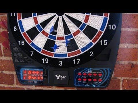 Viper 777 Dartboard | Talking Scoreboard Overview