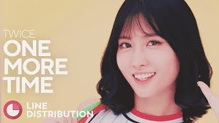 Gambar cover TWICE - One More Time (Line Distribution)