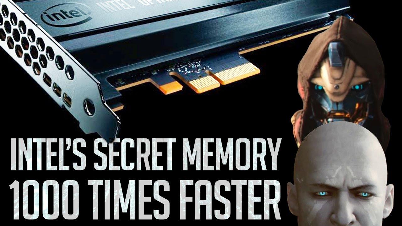 INTEL CREATES 1000 TIMES FASTER SECRET MEMORY, DESTINY 2 INFO BLOWOUT, & MORE