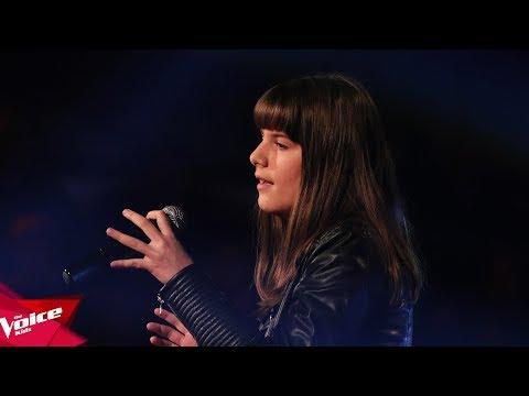 Vesa - What about us | Audicionet e Fshehura | The Voice Kids Albania 2018