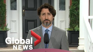 "Coronavirus outbreak: Trudeau says ""encouraging"" new COVID-19 modelling data to be released 