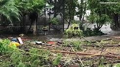 Hurricane Irma damage in Green Cove Springs, Florida