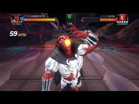 R4 Meph/R4 Starky vs Medusa Boss