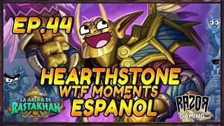 MEJORES MOMENTOS HEARTHSTONE ESPAÑOL | Episodio 44
