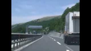Autostrada A24 East, San Rocco Tunnel