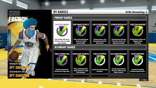 HOW TO MAX ALL PURE SHARP BADGES FASTEST METHOD IN NBA 2K19 • MOST OVERPOWERED BUILD IN THE GAME!!