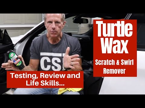 Turtle Wax Scratch & Swirl Remover: Testing, Review And Life Skills