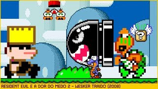 Resident Evil and the Pain of Fear 2 - Wesker Betrayed • Super Mario World ROM Hack (2008)