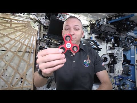 NASA Tests Fidget Spinners In Space