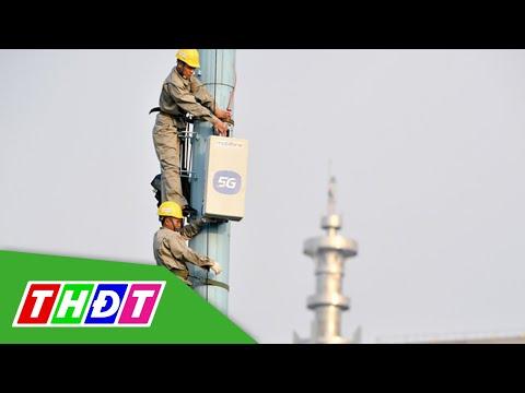 Mobifone thử nghiệm thành công mạng 5G   THDT