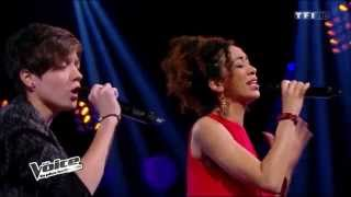 Download The Voice 2014 -  Elodie & Najoua - No surprises MP3 song and Music Video