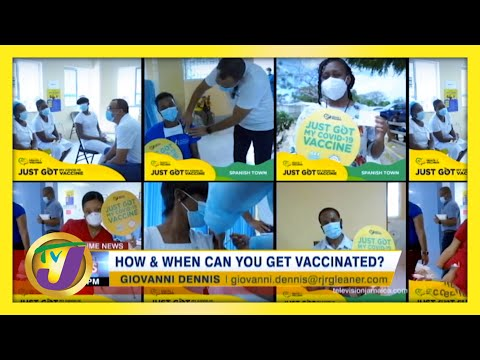 How & When Can You Get Vaccinated? | TVJ News
