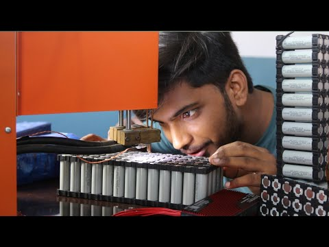 Making of Lithium ion battery for Electric Vehicle and Solar Project