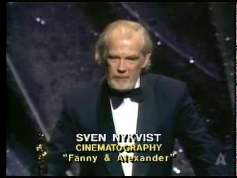 Sven Nykvist Wins Cinematography: 1984 Oscars