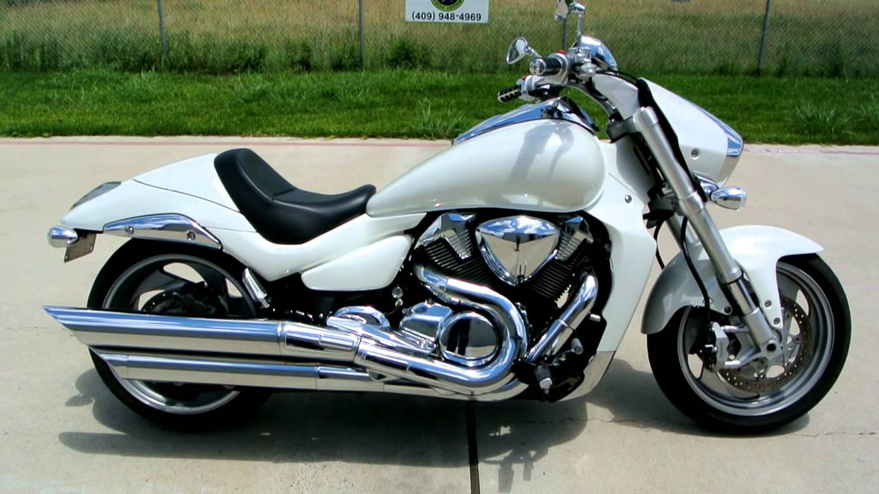 2007 Suzuki Boulevard M109R Pearl White Overview Review Walk Around ...