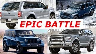 2020 Ford Bronco Vs. 2020 Jeep Wrangler