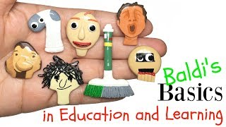 BALDI'S BASICS IN EDUCATION AND LEARNING! Stop Motion Polymer Clay Tutorial thumbnail