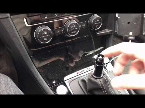 Uninstalling the Golf R DSG Black Forest Industries Shift Knob - Back to Stock